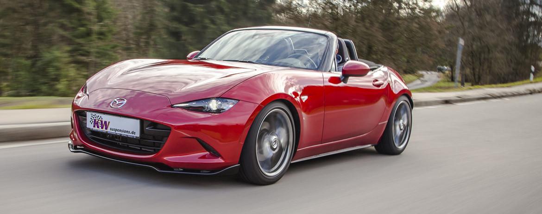 Mazda MX-5 Miata Coilovers | KW suspensions US